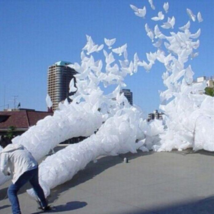 1 шт. Белая Птица фольги воздушный шар в форме с плавающей воздушный шарик Воздушный Шар свадьба день рождения украшения голубь надувные детские игрушки