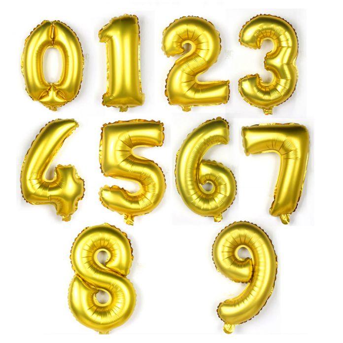 """32 дюймов Гелием Воздушный Шар Золото Серебро большой свадьба с днем Рождения фольгированные шары воздушные шары украшения номер гигантский воздушный шар Партии """"золотой мяч"""""""