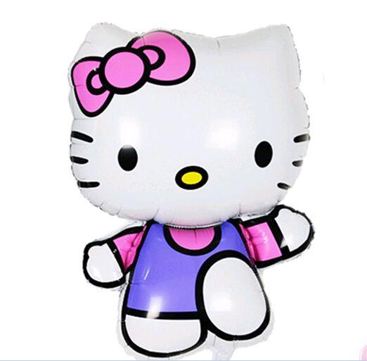 Hello Kitty воздушный шар день рождения украшения надувные гелий фольгированных шаров Классические игрушки