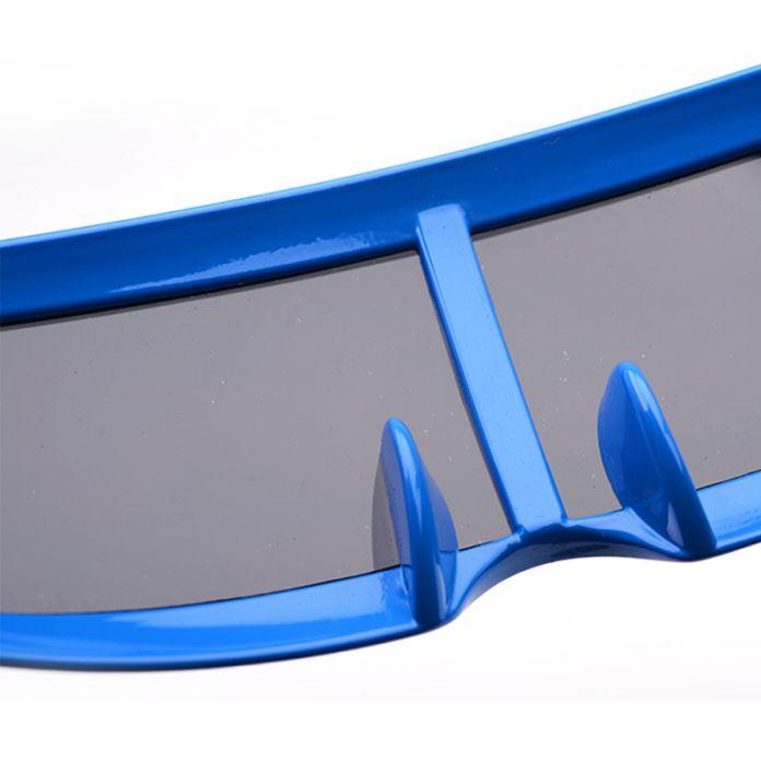 Super Cool Солнцезащитные Очки для Мужчин Женщин Внеземной Животных Форме Рыбы Солнцезащитные Очки Яркими Кадр UV400 Чужой Очки