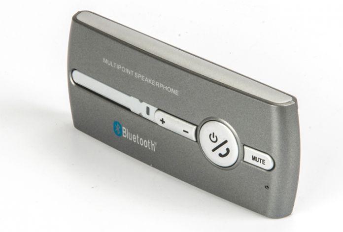 Автомобиль Солнцезащитный Козырек Беспроводной Multipoint Bluetooth Динамик Громкой Связи Громкой Связи Bluetooth Hands Free Car Kit Bluetooth