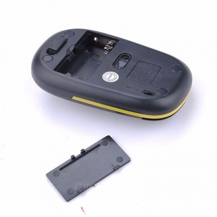 П-Образный 2.4 ГГц Беспроводная Мышь 1600 ТОЧЕК/ДЮЙМ Оптическая Мышь Для Компьютера Ноутбука Беспроводная Мышь Моды