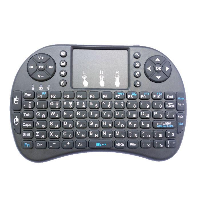 Мини Беспроводная русская клавиатура  2.4 ГГц