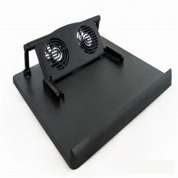 "Цена по прейскуранту завода 2 Вентилятор USB Порт Охлаждения Cooler Pad для 14 ""15.6"" 17 ""дюймов Ноутбуки Ноутбук Mfeb18 WL1L"
