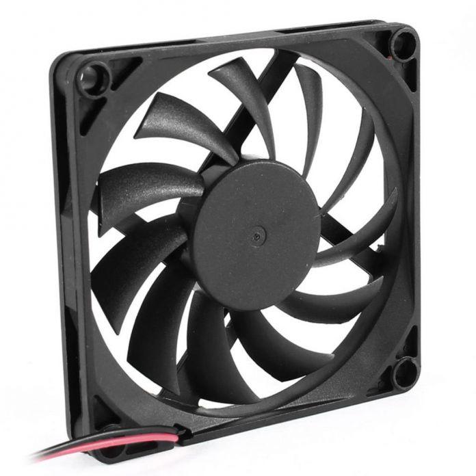 2016 Новый 80 мм 2 Контактный Разъем Вентилятор Охлаждения для Корпуса Компьютера CPU Cooler Радиатор