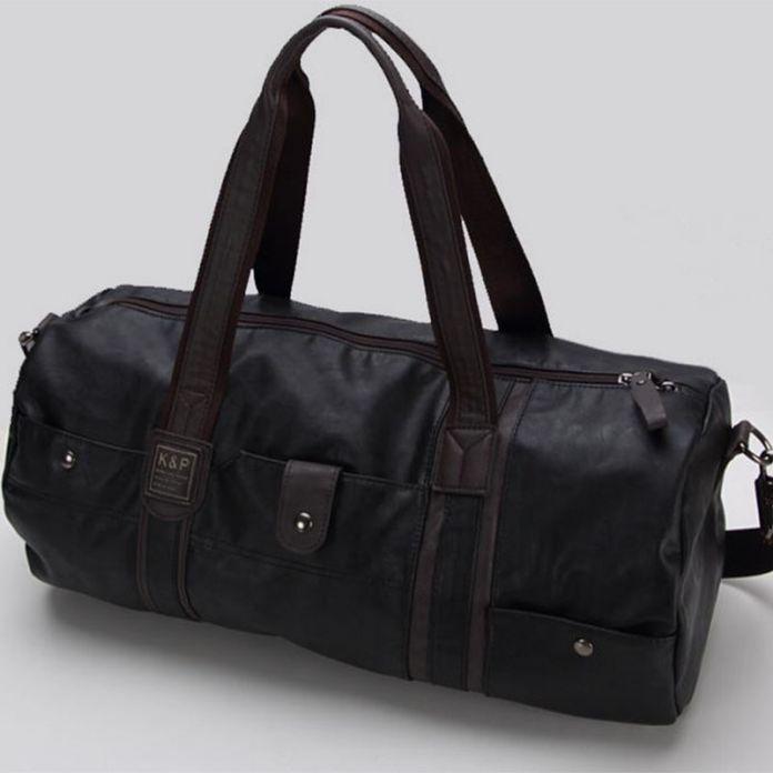 Высокое качество марка мужская кожаная сумка мужская винтаж вещевой мешок большой емкости мешок руки плечевой ремень случайные тотализатор 696 т