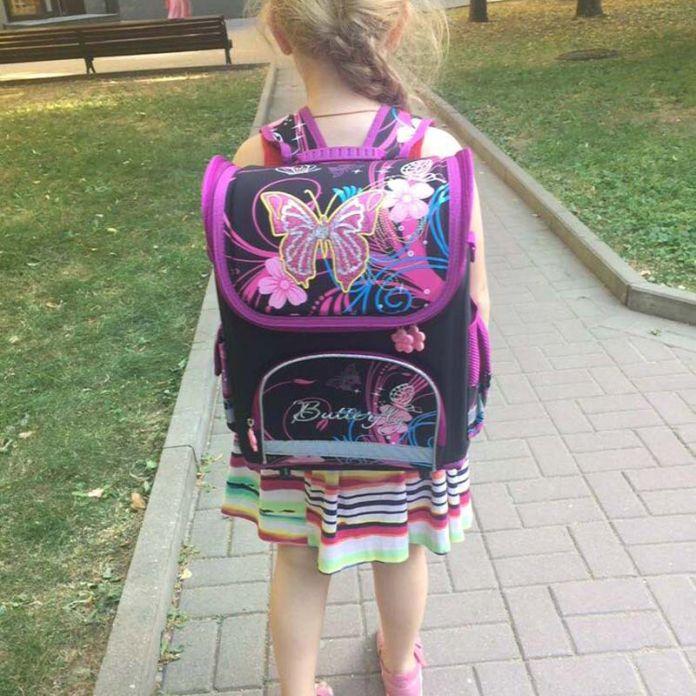 HANTAJANSS Дети Рюкзак Школа Винкс Monster High Бабочки Девушки Школьные Сумки Начальной Рюкзак Студент Ортопедические Ранцы