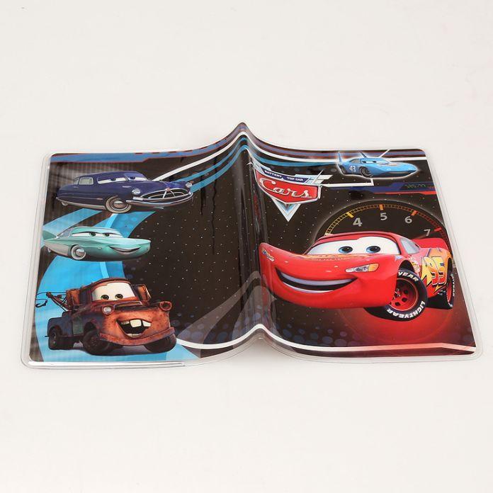 Автомобили мультфильм документ устанавливает ПВХ прекрасные документы чехол книжка Паспорт Случае