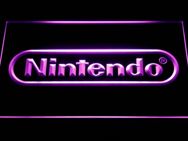 E021 Nintendo Игровая Комната Бар Пивной LED Neon Sign с Включения/Выключения 7 Цветов на выбор отправлен в 24 часов