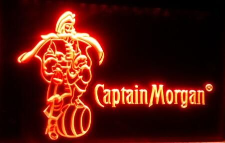 Tm7523 Капитан Морган Бар Пивной LED Neon sign On/Off Переключатель 7 Цвета