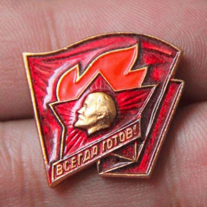 Россия Ленина Пионеры Медаль Советский Союз Знак Эмблемы, Значки Нагрудные Красный Революционная Коммунистическая Партия Сувенирные Медали