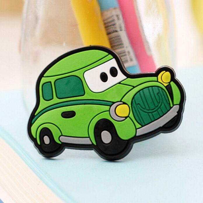 Креативный дизайн автомобиля Рождественский дизайн Магниты на холодильник для детей Небольшой Размер Геля Кремния магнитные магнит на холодильник Животных Магниты