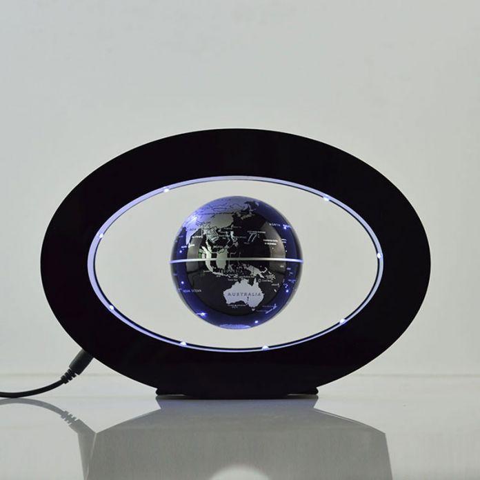 Новогоднее Украшение Подарки 3 Форма Левитация Плавающей Глобус Вращающийся Магнитный Таинственно Взвешенных в Воздухе, Карта Мира