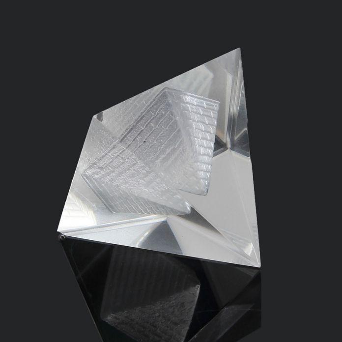 Элегантный Египет Египетский Природный Кристалл Прозрачный Кварцевый Пирамиды Главная Стол Декор Подарок Гостиная Украшения Кристалл Украшение Craft