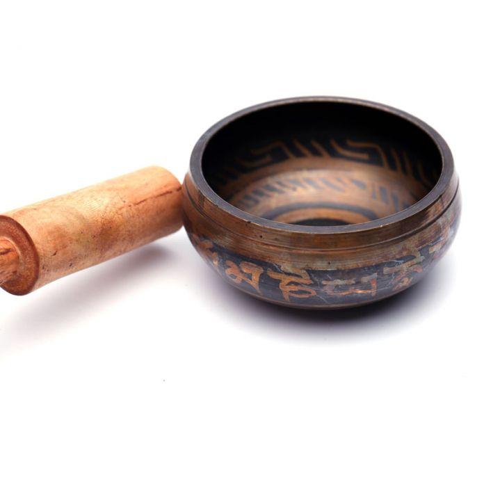 Тибетский Буддийский Поющая Чаша Медитация Йога Выгравированы Резные Чакра Hand-Hammered Духовные Чакры Качество Потрясающие