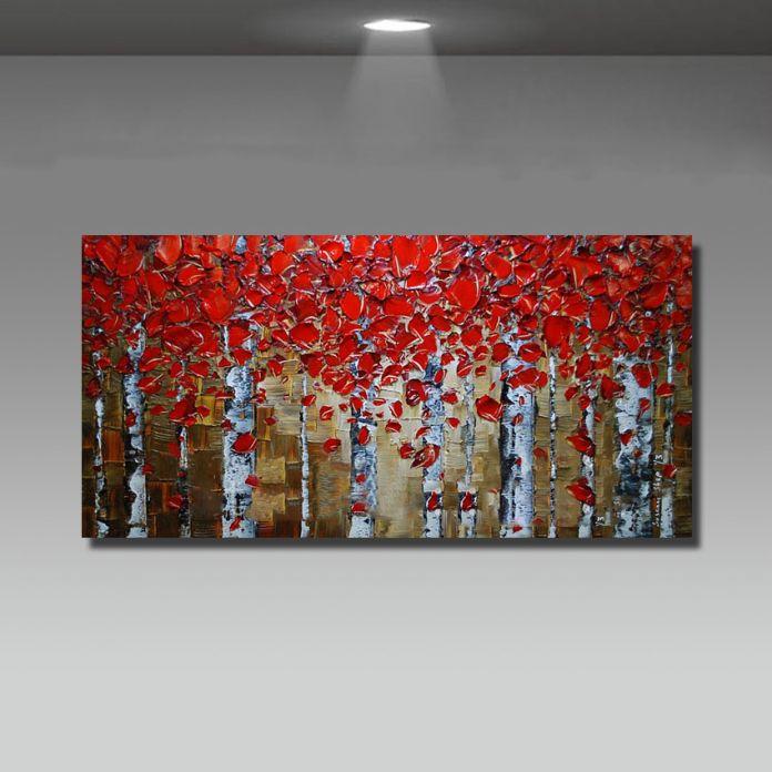 Бесплатная Доставка Картина Маслом Современного Дома Картина Маслом Мастихином Современная Живопись Несколько Стиль Настенные Панно Для Гостиной