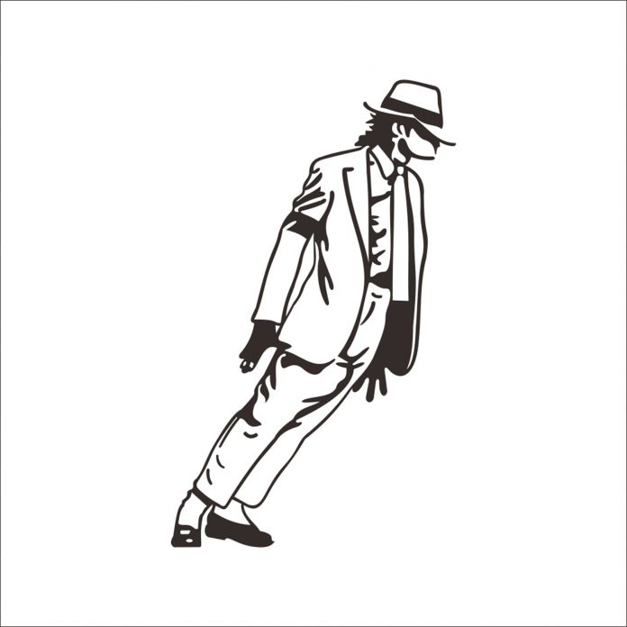 2016 Горячий Продавать Майкл Джексон Стены Съемный Виниловые Наклейки на Стены Декор наклейки На Стены Новые Танцор Стены Стикеры DIY Home Decor