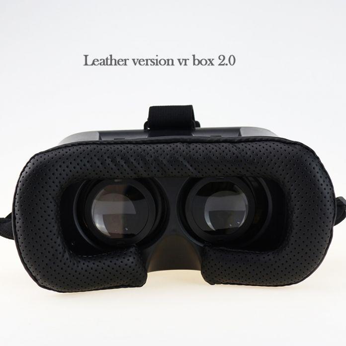 Обновление VR 2.0 VRBOX Pro ii Кожа 3D Очки виртуальной Реальности Гарнитура 360 Просмотра Шлем Видео for4-6 'Мобильный Телефон + пульт дистанционного