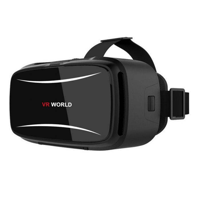 Очки виртуальной Реальности 3D VR Гарнитуры VR Мир Кино Игры Для IOS Android Смартфонов + Bluetooth 3.0 Пульт дистанционного управления VR1218