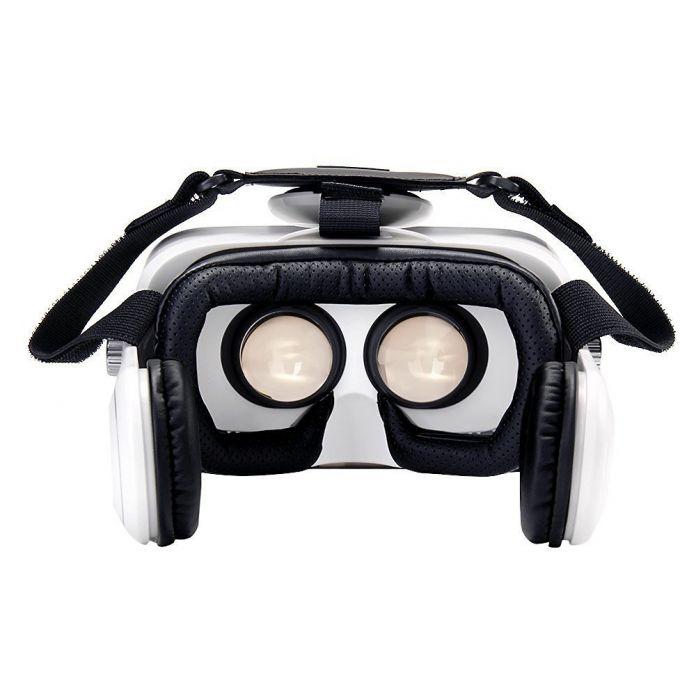 VR Коробка Z4 3D Очки Виртуальной Реальности Очки Google Картон VR Гарнитура С наушниками Для 4.2-6.2 дюймов смартфон