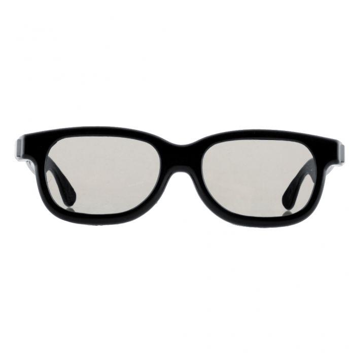 Черный круг поляризованные 3D очки фильмы DVD жк-дисплей видео игра театр телевизор театр фильмы круг