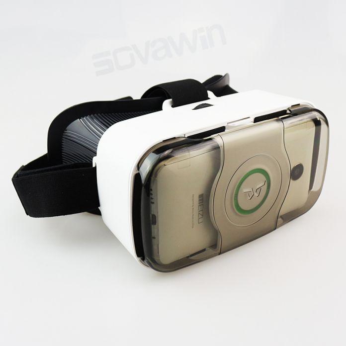Горячая VR Shinecon 3.0 Pro Гарнитура 3D Очки Виртуальной Реальности передняя Крышка Шлем vrbox для 4.5-6' Мобильный Телефон с VR контроллер