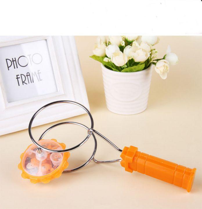 Магия LED гироскоп флэш-игрушки ларек магнитный волчок трек йо-йо