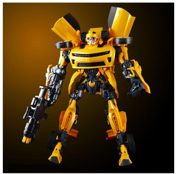 42 см Трансформации Роботы Шмель модель Автомобиля действие игрушки Robocar Мальчик игрушки Классические Игрушки Фигурки Подарки Для Детей