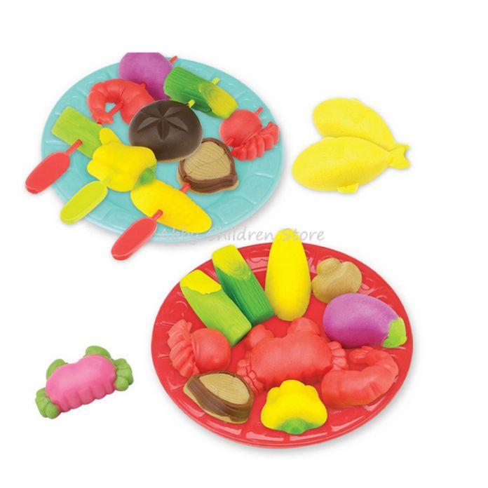 Diy 3D Пластилина, Лепка Из Глины Играть Doh Пластилина Полимерная Глина, Пластилин Инструменты Kit Развивающие Игрушки Для Детей Kids
