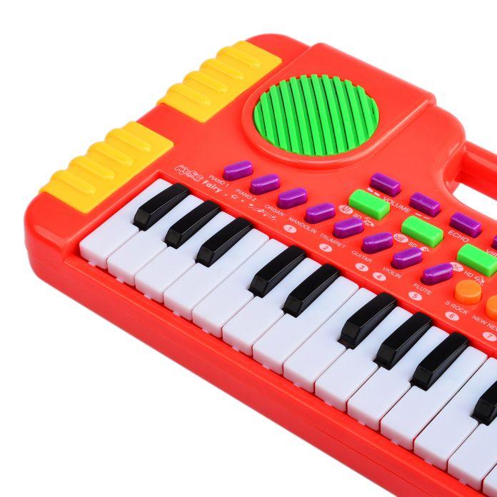 31 Ключевых Синтезатор Электронная Клавиатура Фортепиано Музыкальные Игрушки для Детей Дети Рождественский Подарок