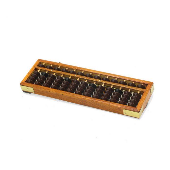 Новые Деревянные Рамы Классический Древний Калькулятор Abacus Soroban Пластмасс Шарик Игрушки Развивать детские Математика Abacus Разведки