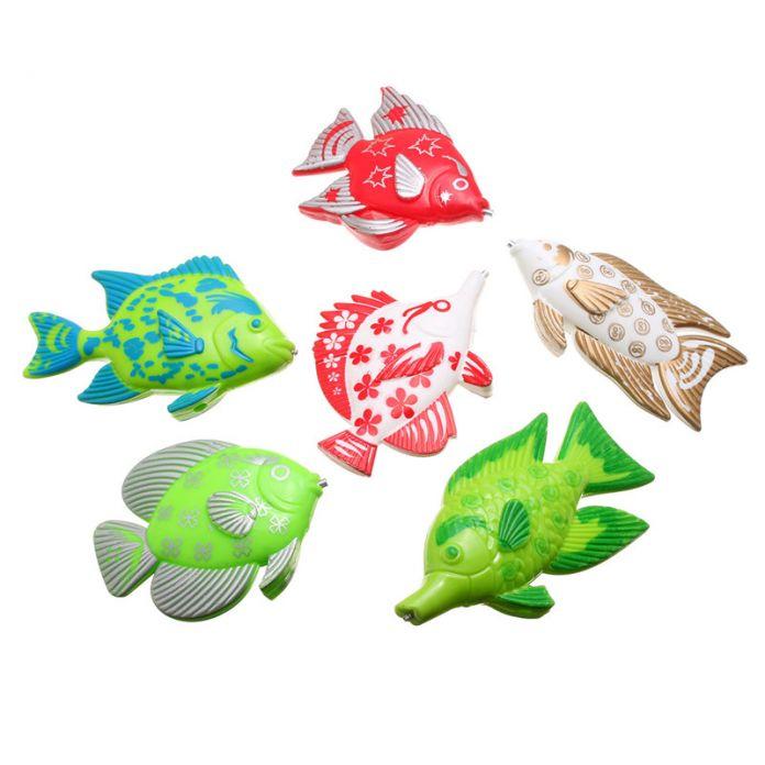 Магнитная Рыбалка Игрушка С 6 рыбы И Удочки Открытый Весело и Спорта Рыбы Игрушка Подарок для Ребенка/дети