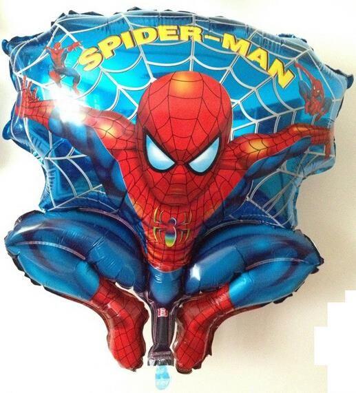 Бесплатная Доставка 30 дюймов Фольги Человек-Паук Воздушный Шар Поплавок шары воздушные шары Свадьба день рождения украшения Дети Надувные Toys