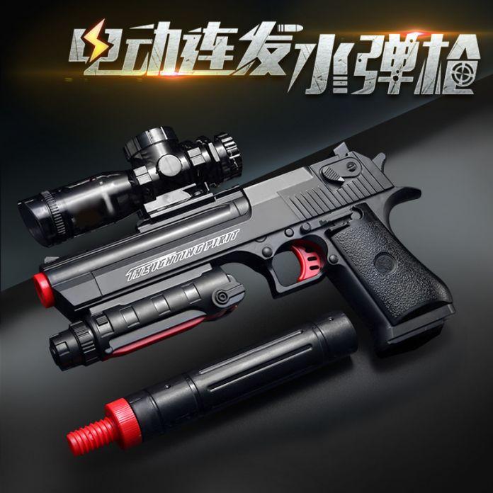 Бесплатная Доставка Высокое Качество Desert Eagle Автоматический Пистолет Пневматического Оружия Мягкая Пуля Пистолет Пейнтбол Пистолет Игрушки Игры Игрушечный Пистолет