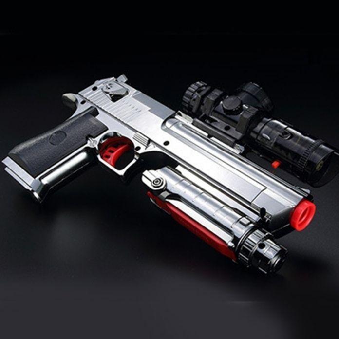 ZUANLONG Марка Desert Eagle Пистолет Пневматического Оружия Мягкая Пуля Пистолет Пейнтбол Пистолет Игрушки Игры Игрушечный Пистолет Модель Пистолета Бесплатная Доставка