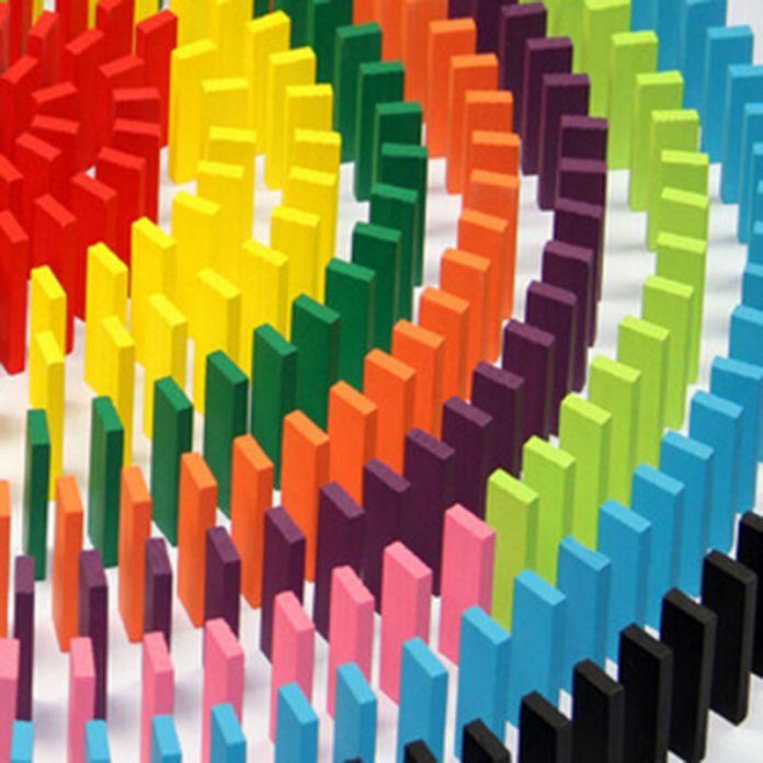 Цветные Аутентичные Стандартный Деревянные Домино качество младенцев и маленьких детей domino блоки детские развивающие игрушки