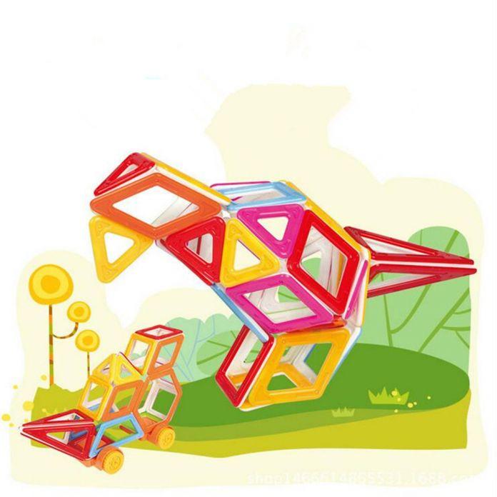 Мини Magformers 82 шт. 148 шт./лот Магнитные Строительство Модели Building Blocks Игрушки DIY 3D Магнитный Конструктор Кирпич Детей Игрушки