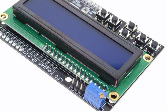 1 ШТ. ЖК Клавиатура Щит LCD1602 ЖК 1602 Модуль Дисплей Для Arduino ATMEGA328 ATMEGA2560 raspberry pi ООН синий экран