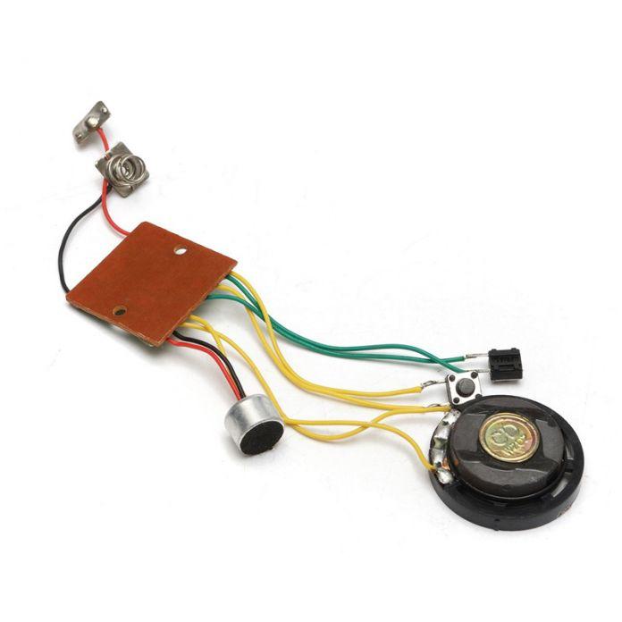 Макс 10 Секунд Записываемый Голос Перекодировщик Модуль Звуковой чип для Поздравительной открытки Музыкальные Игрушки Прочное Качество Интегральных Схем