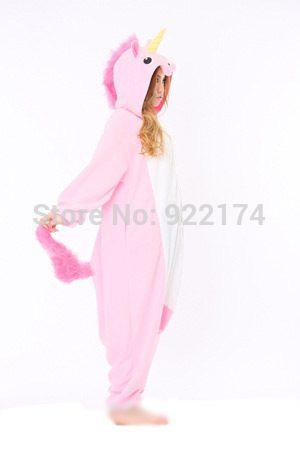 Взрослый мужской розовый/синий Единорог Onesies Косплей пижамы Пижамы Комбинезон хэллоуин christmas party косплей костюмы S, M, L, XL