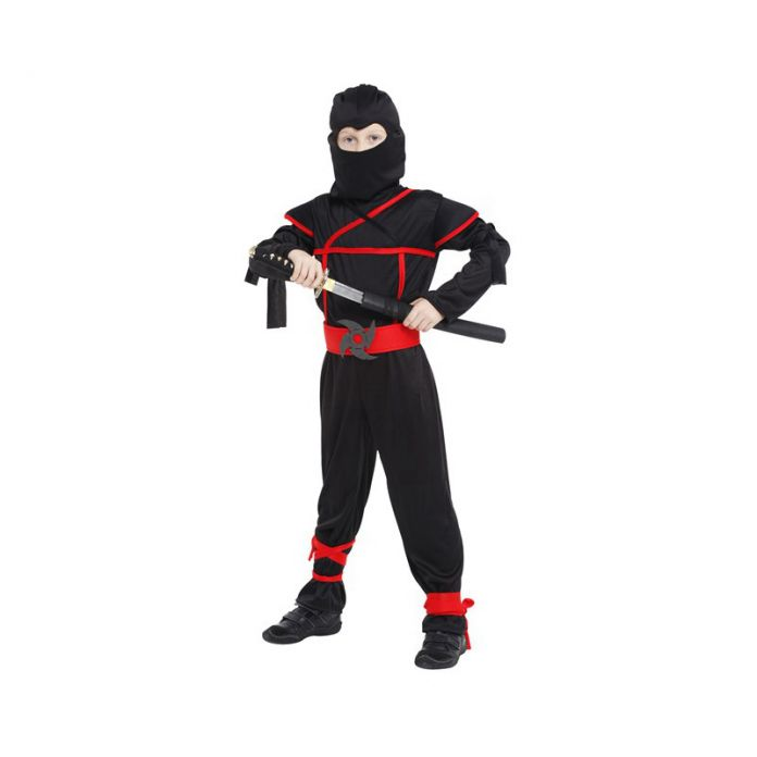 Стелс ниндзя мальчики костюм ребенок самурай воин аниме маскарадный костюм для карнавала или хэллоуин ну вечеринку переодевание
