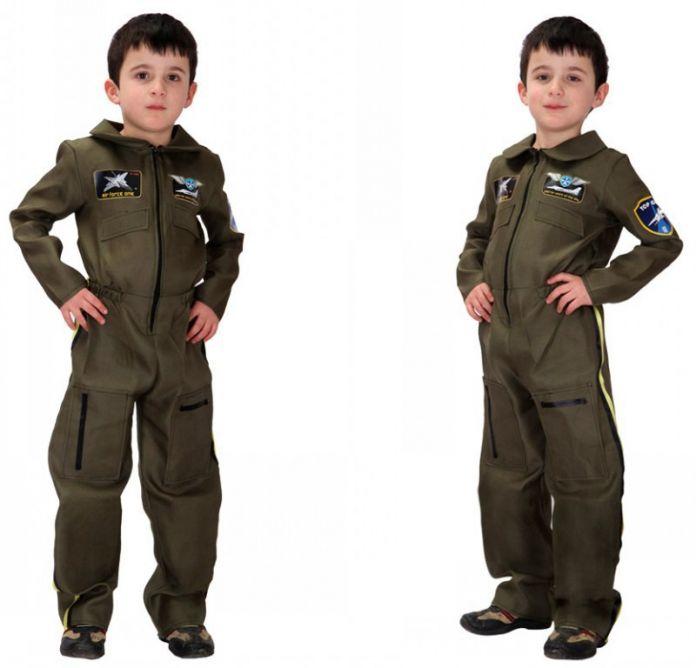 M-xl бесплатная доставка детские костюмы хэллоуина детские мальчики полиция пилот костюм косплей фантазия Disfraces игры униформы