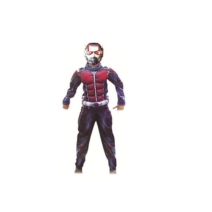 Бесплатная Доставка Хэллоуин Костюмы Дети Ant Man Дети Нового Супергероя Костюмированный Фильм Муравей Костюм Мужчина