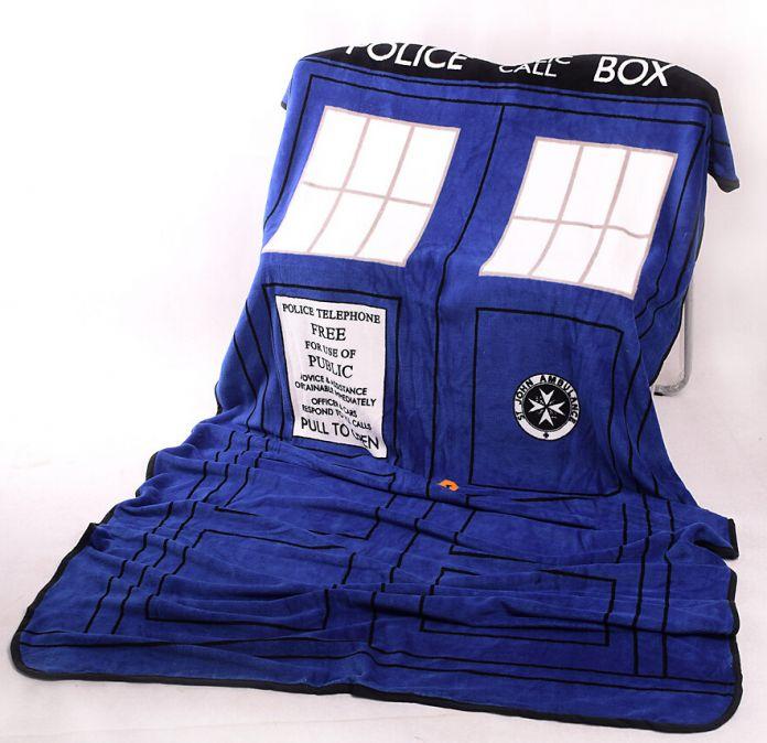 """Одеяло """"Доктор кто"""" 127х226 см."""