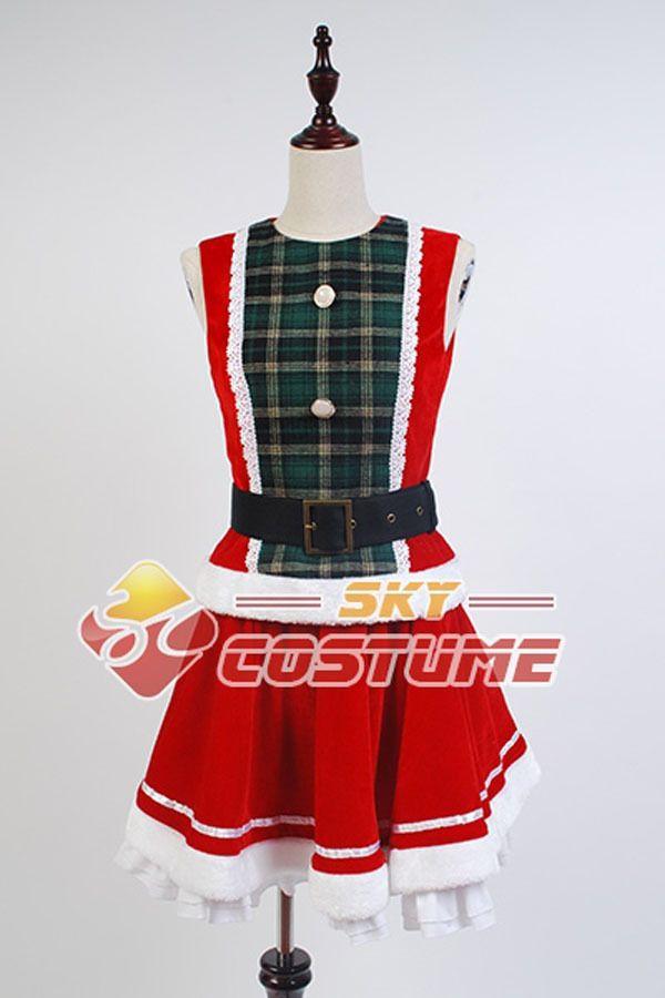 Аниме LoveLive! любовь Живая Honoka Kousaka Рождество Парадной форме Плащ Хэллоуин Косплей Костюмы Для Женщин Бесплатная Доставка