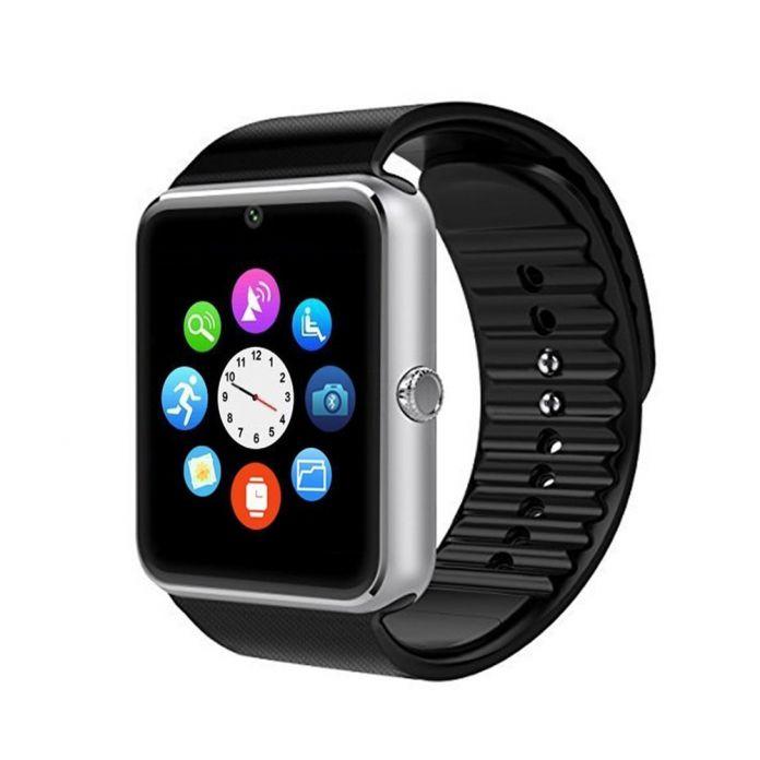 Умный часы GT08 часы синхронизации Notifier с Sim карты Bluetooth подключения для apple , Android телефон для IOS Android OS PK GV18 U8