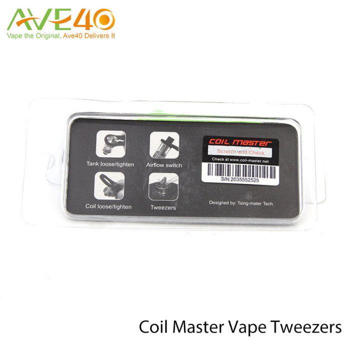 Катушка Мастер Жидкостью Vape Пинцет для Электронных сигарет Термостойкие Керамические Пинцет для Eleaf iJust 2 Rx200s