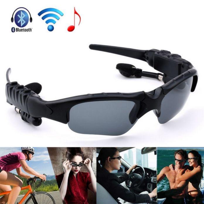 Наушники Беспроводные Наушники Bluetooth Стерео Музыкальный Телефон Вызова Hands free Солнцезащитные Очки Гарнитура Для iPhone для Samsung Новые
