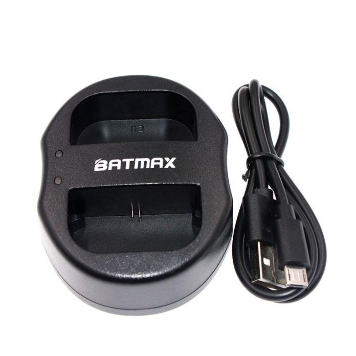 3полное batmax 1 Шт. LP-E6N Dual 2-портовый USB Зарядное Устройство для Canon LP-E6 LP E6 EOS 5D2 5D3 6D 7D 70D 60D Mark II III Цифровая Камера + USB кабель