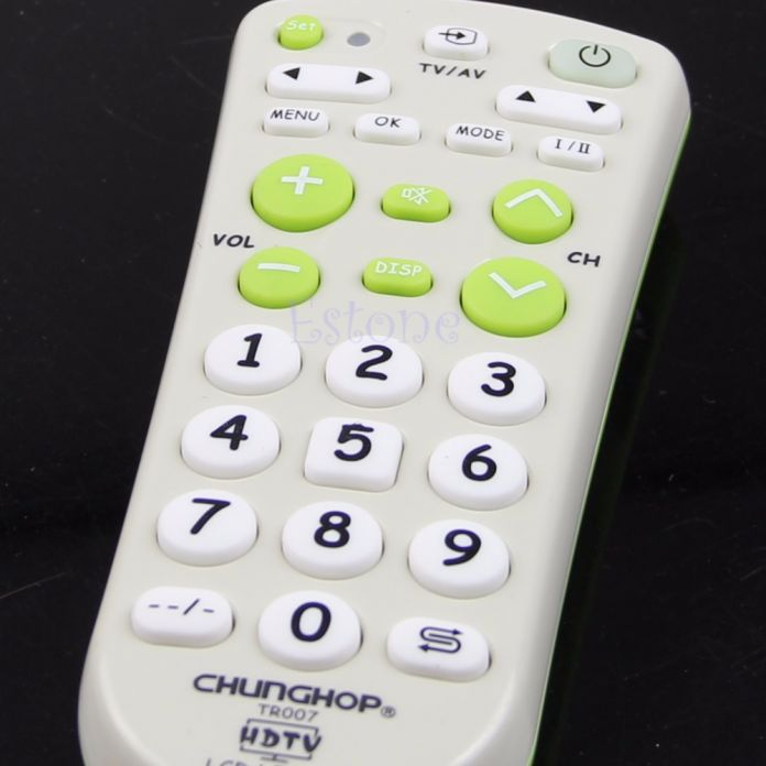 Большой Ключ Универсальный Многофункциональный Пульт Дистанционного Управления Для LCD LED HD Телевизоры